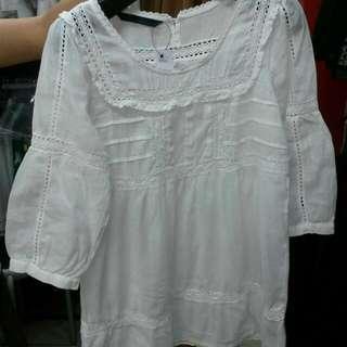 REPRICE White Blouse