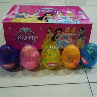 surprise eggs for girls - princess