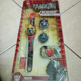 Transformer Digital Watch
