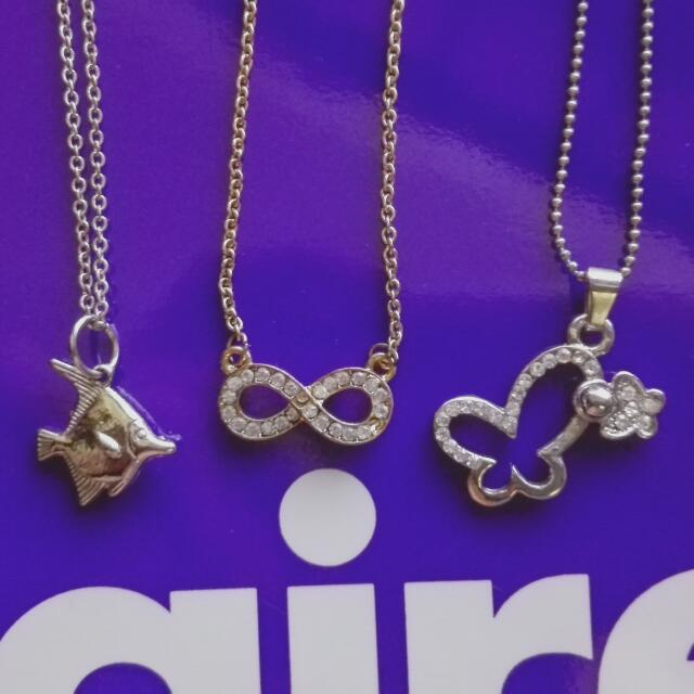 3 Necklaces For 200!!!