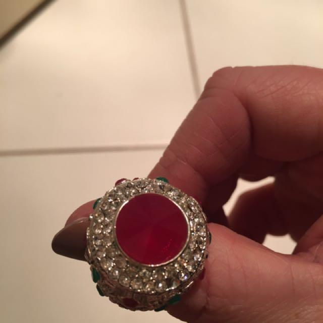 925 Sterling Silver Dress Ring