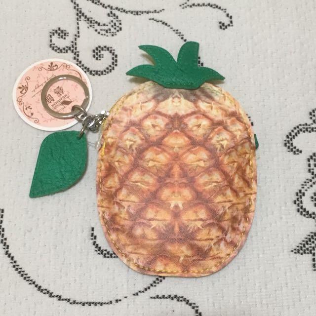 鳳梨零錢包