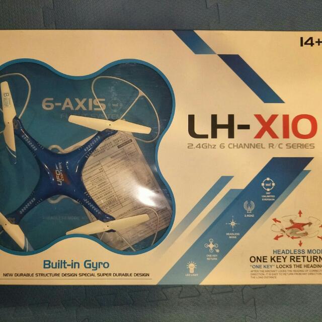全新 LH-X10  四軸飛行器 空拍機 單賣遙控器 2.4G 遙控器
