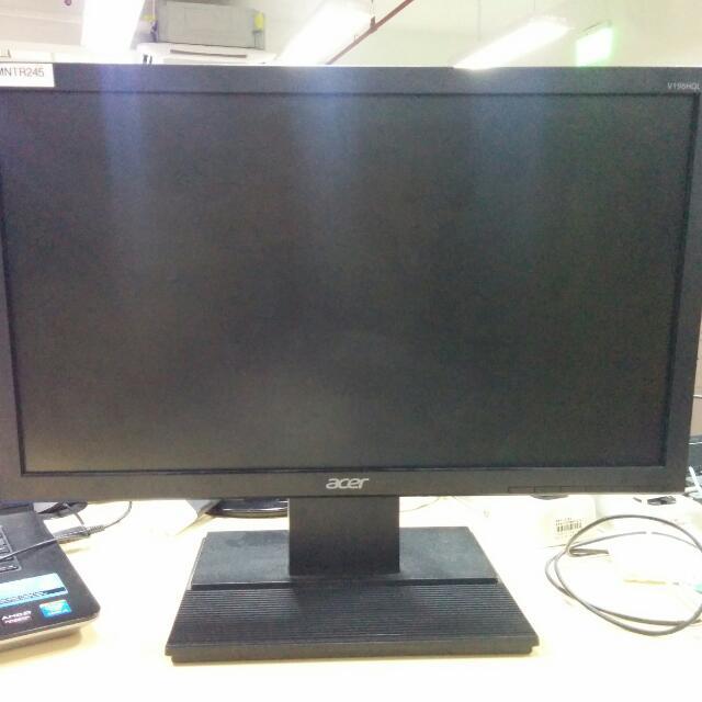 ACER V196HQL 18.5inch Monitor
