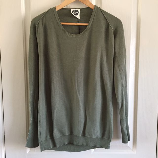 All About Eve Khaki Sweater