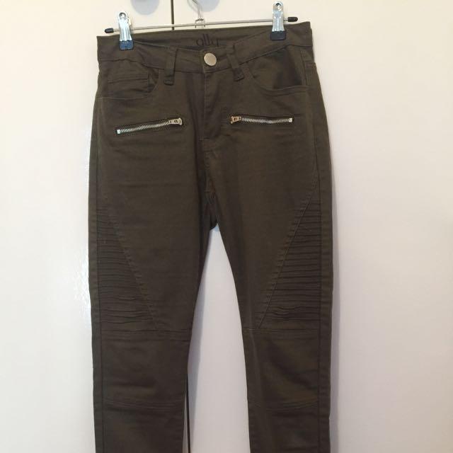 Ally Fashion Khaki Jeans