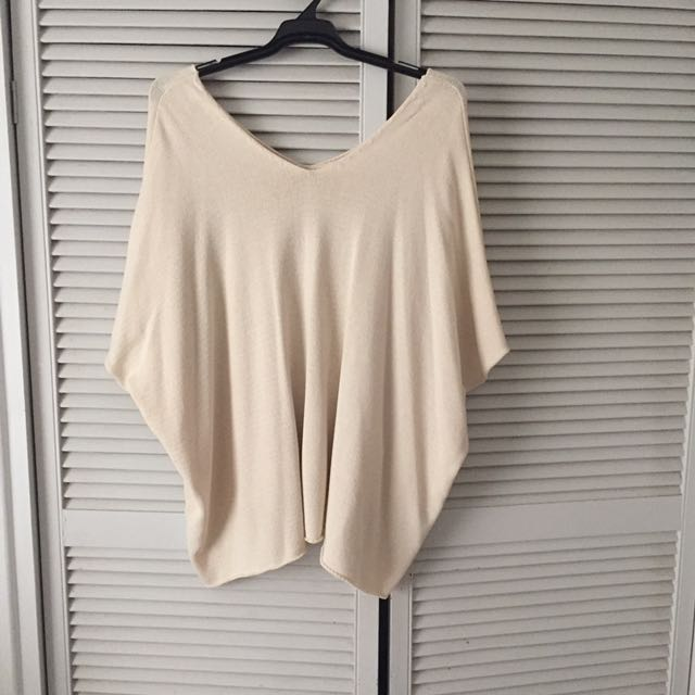 ASOS CURVE Beige Top Plus Size