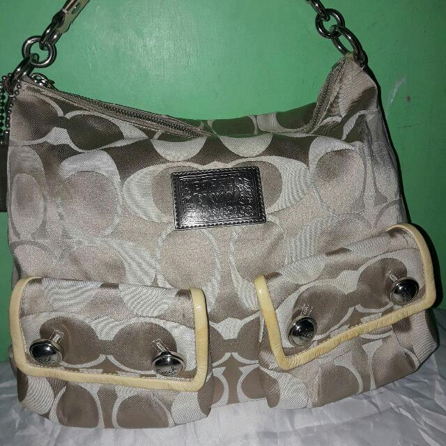 Authentic Preloved Coach Large Bag