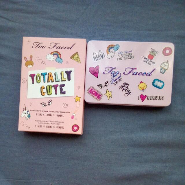 Authentic Too Faced Limited Edition Totally Cute