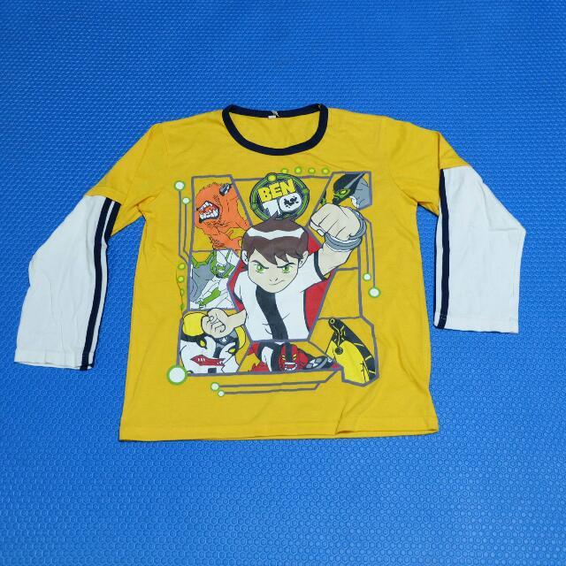 Baju Ben 10 Kuning