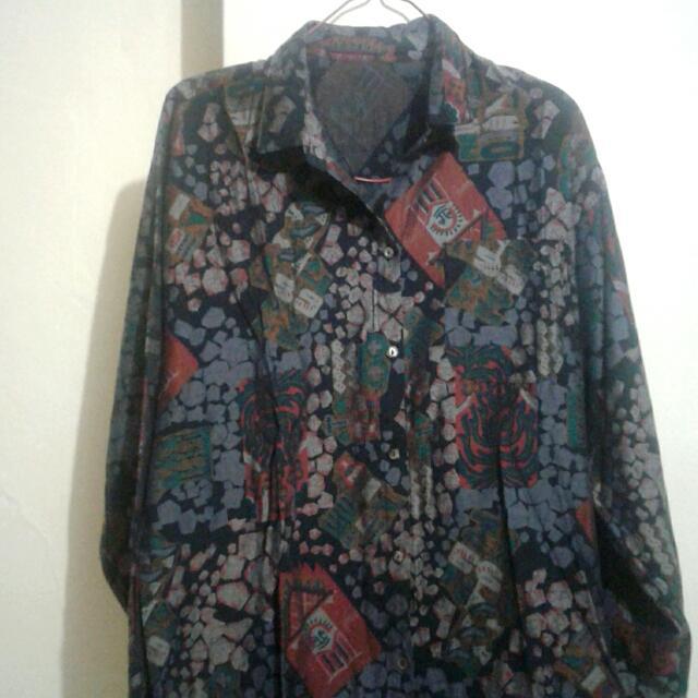 Baju Vintage Panjang