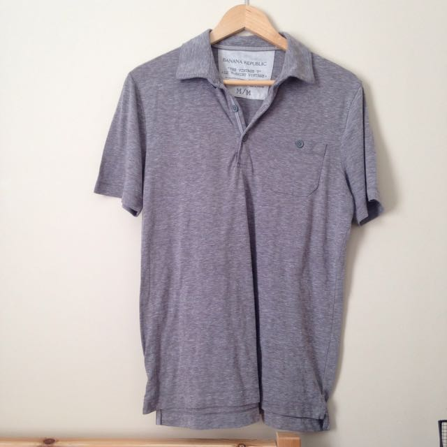 Banana Republic Grey Shirt