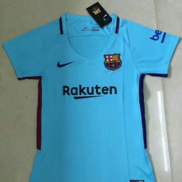 e7ef86b76d8 Barcelona 17-18 Away Ladies Kit on Carousell