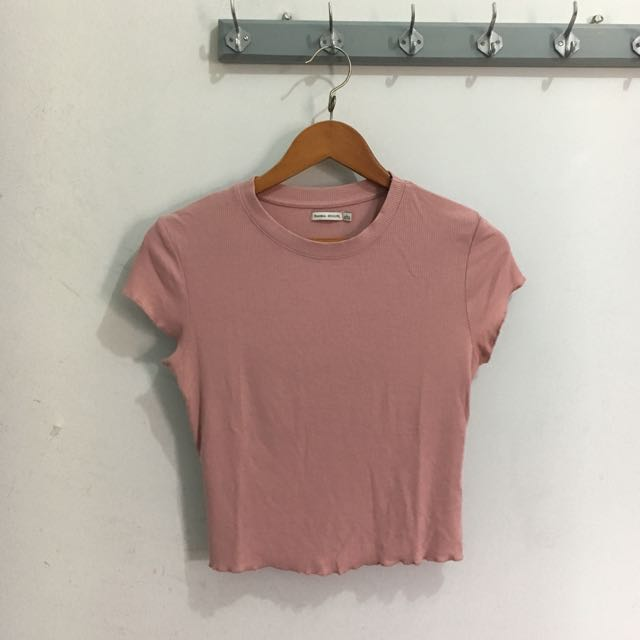 BERSHKA Cropped Top