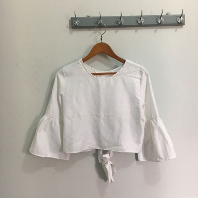 Big Jill Cropped Blouse
