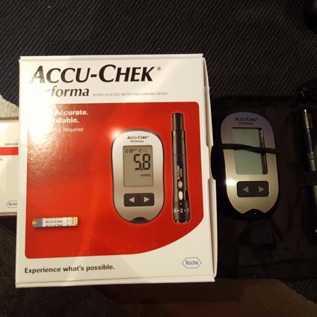 Blood Glucose Monitor- Accu Chek