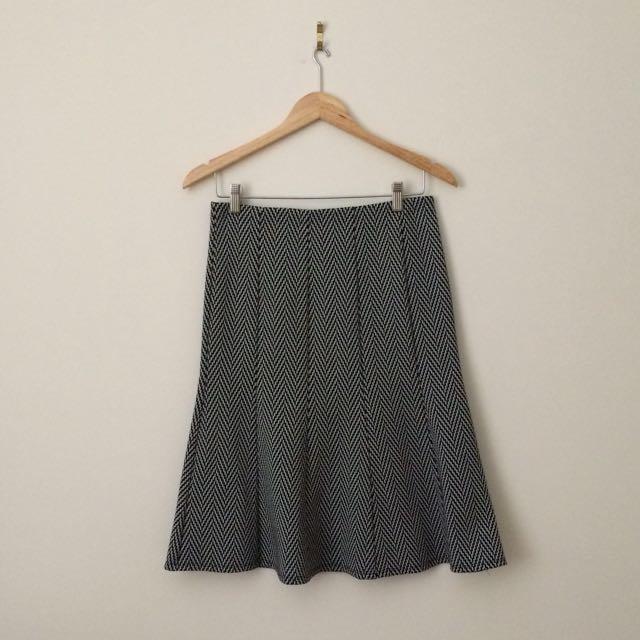 BNWT Laura Flared Pencil Skirt
