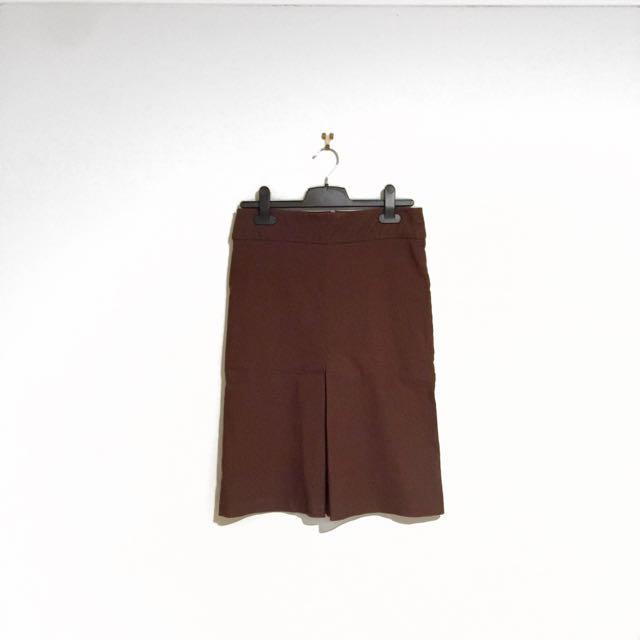 Cooper St, Clothing Brown Vintage Pencil Skitt