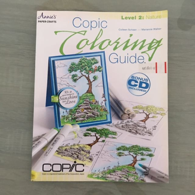 Copic Coloring Guide Lev 2, Design & Craft, Craft Supplies & Tools ...