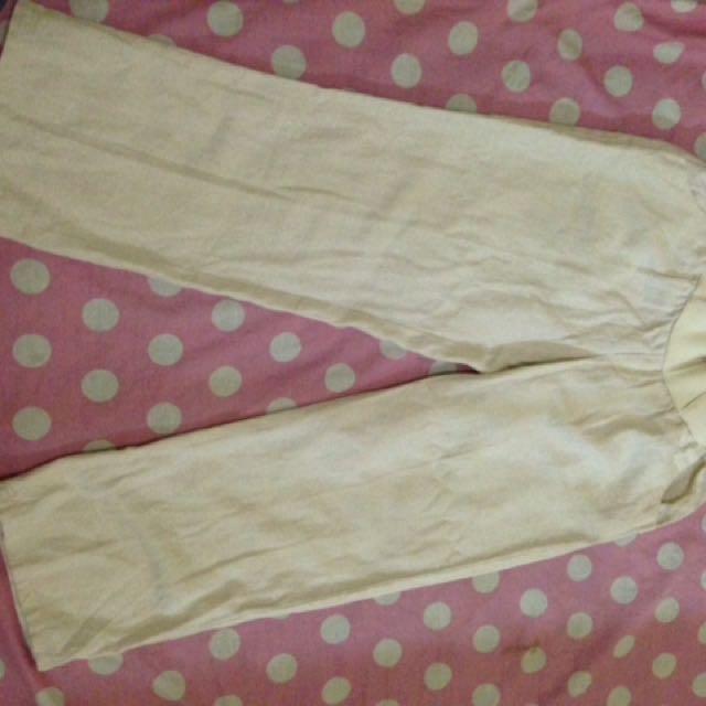 Cullot Pant Broken White/ Celana Kulot