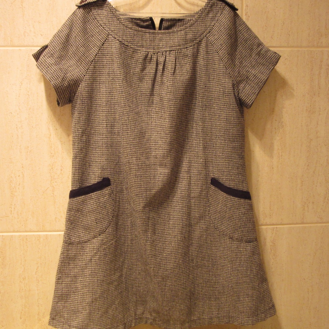 Cute Black & Grey Dress