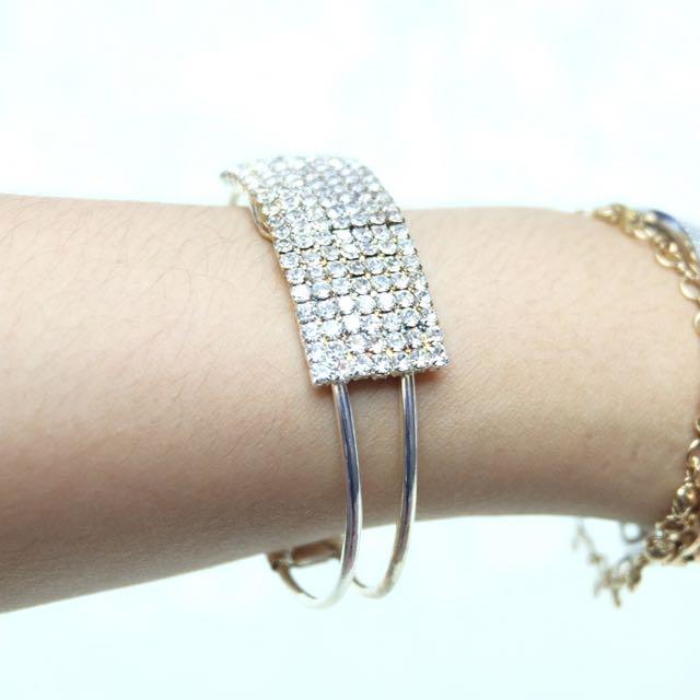 Diamond Bracelet ( Gelang Permata Mewah ) Import