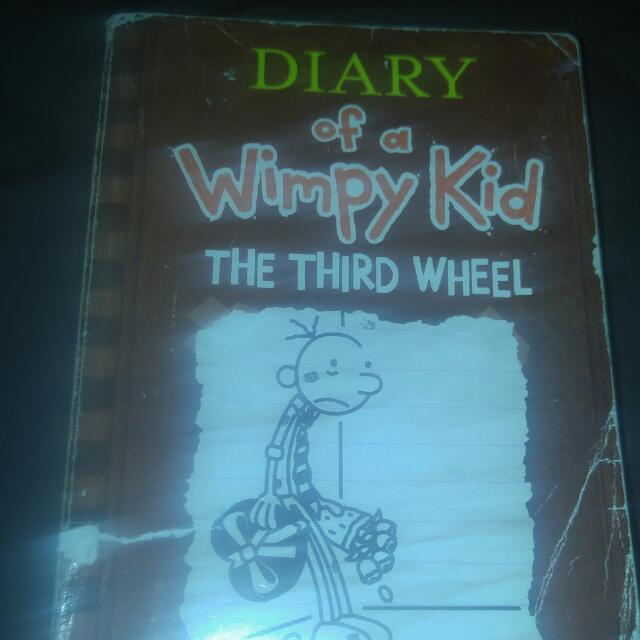 Diary Of A Wimpy Kid The Third Wheel By Jeff Kinney