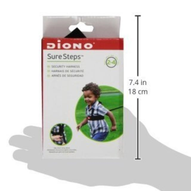Diono Sure Steps Harness for Toddler