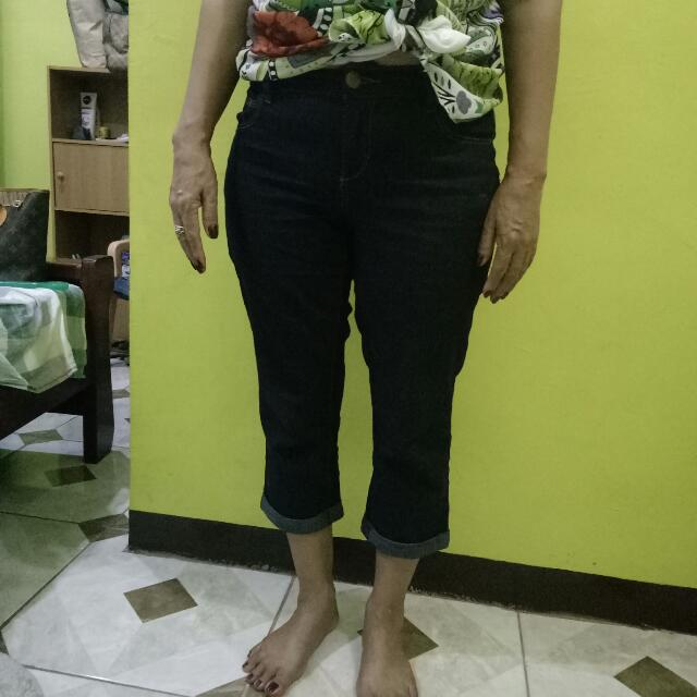 Dorothy Perkins Denim Pedal Jeans