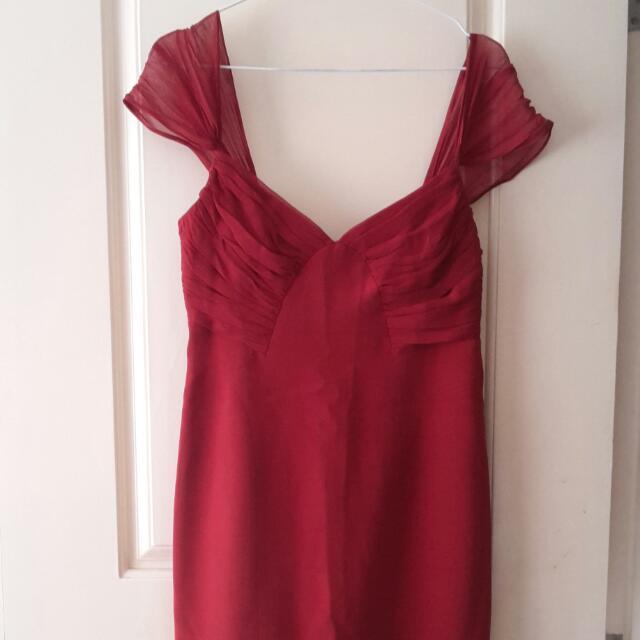 Dress Silk David Meister.