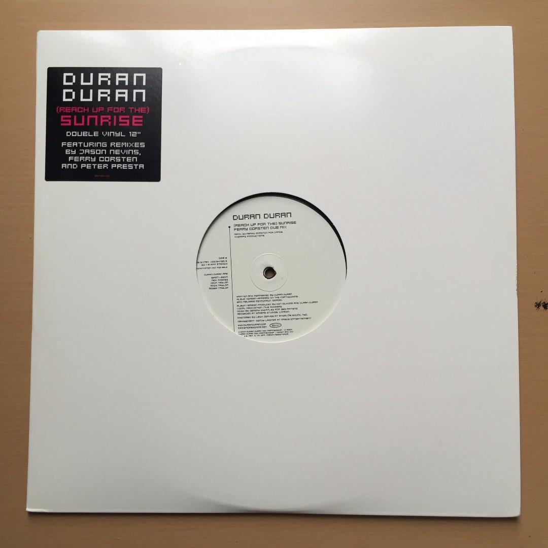 """Duran Duran double vinyl 12"""""""