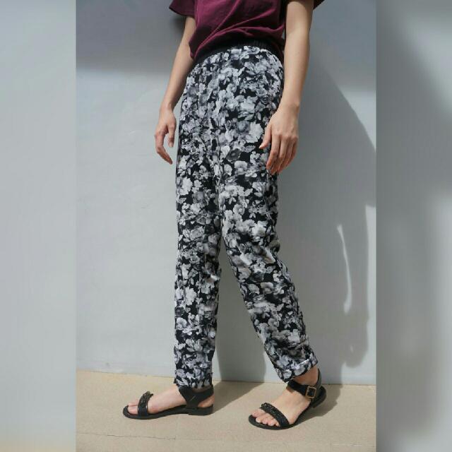 F21 Floral Pants