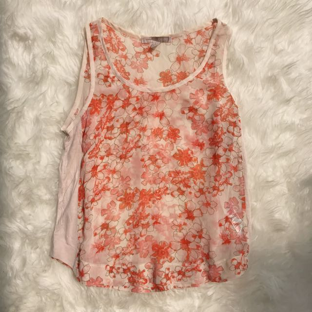 Floral Tank By Forever 21