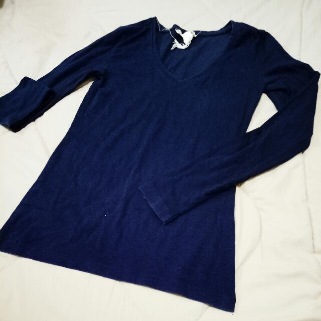 Forever 21 Fitted Sweater Longsleeve