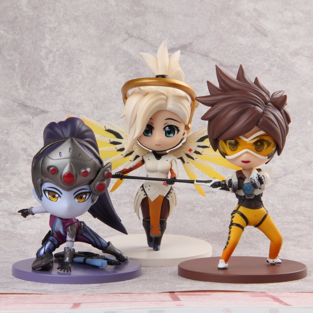 Free Delivery Blizzard Overwatch Tracer Mercy Widowmaker