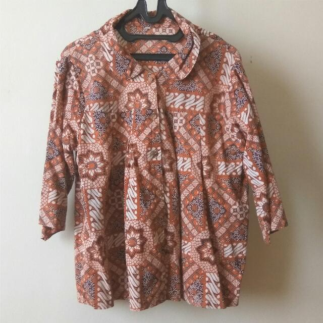 FREEONG *preloved* Loose Shirt