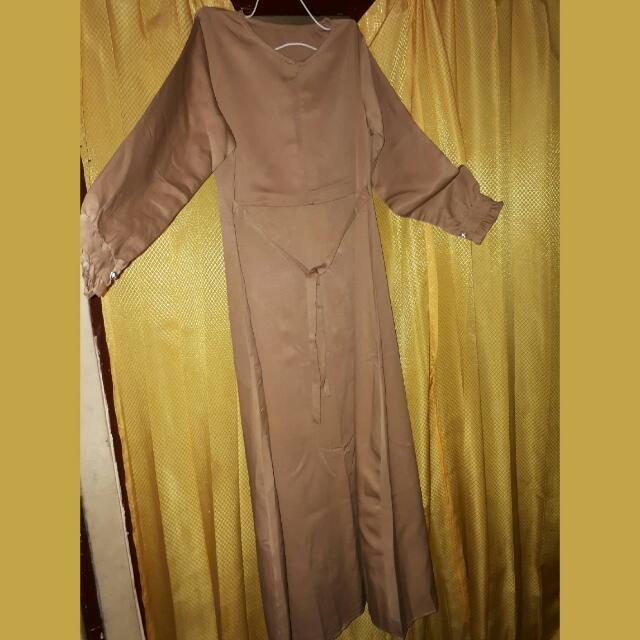 Gamis / Long Dress  Coklat
