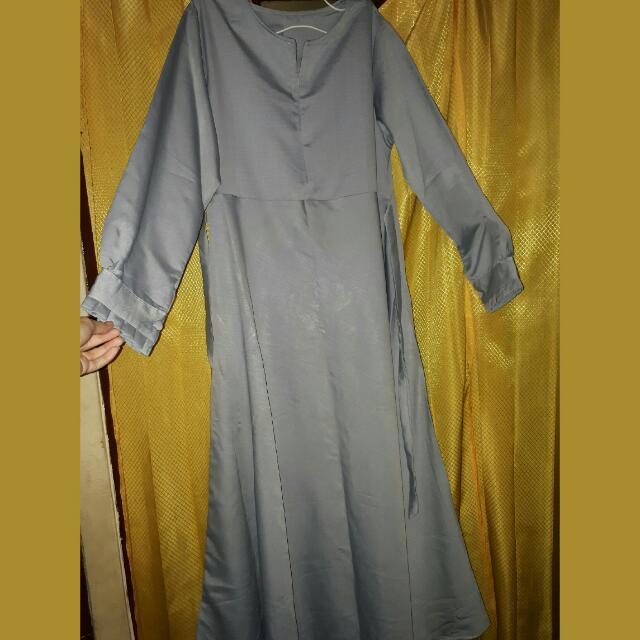 Gamis/ Long Dress Abu Abu
