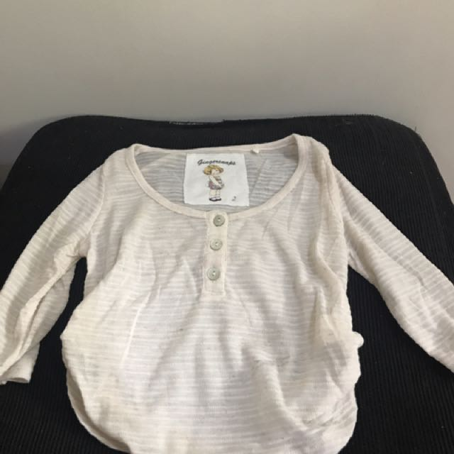 Gingersnaps Cover Up Long Sleeves (2 Yrs Old)