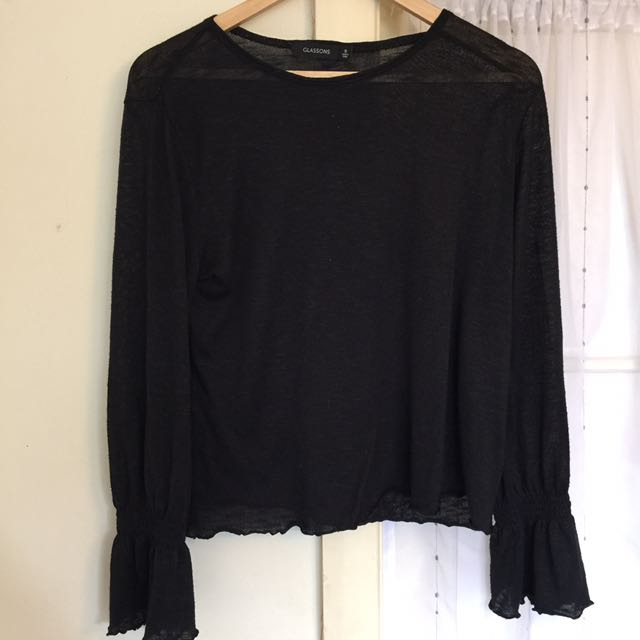 Glassons Frill Sleeve Top