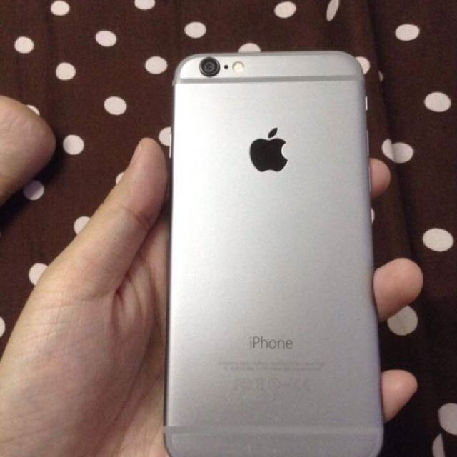 GLOBE LOCK. Iphone6 16gb Spce Gray
