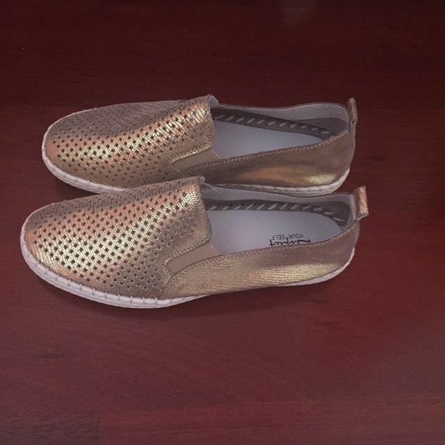 Golden Leather Casual Shoes Flats 39 8