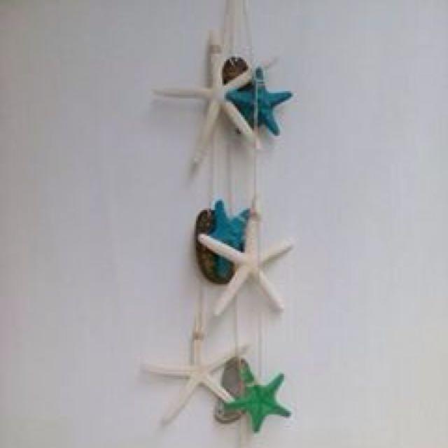 Hanging seashell