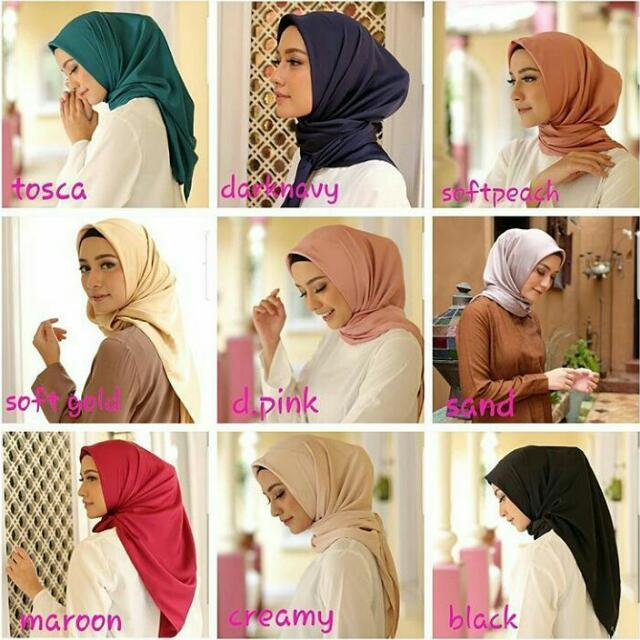 HIJAB SEGI 4 (MULBERRY PLAIN)