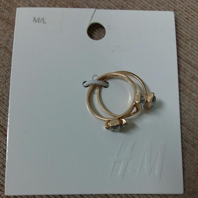 H&M Triple Ring