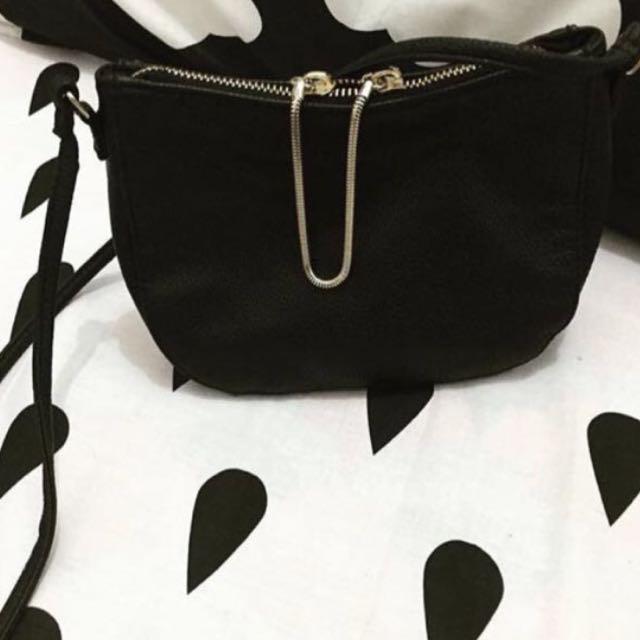 H&M zipper bag