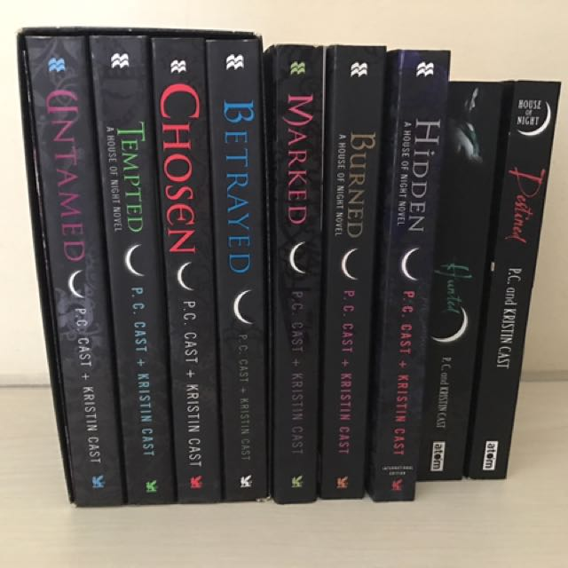 house of night books!!