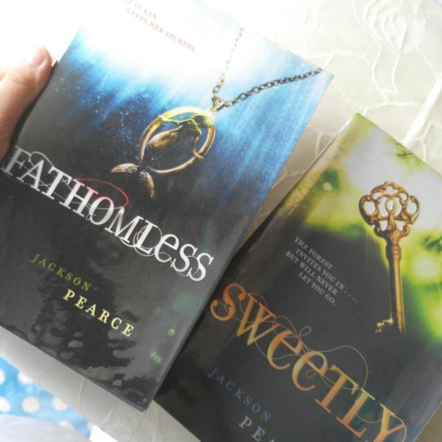 J. Pierce Books Fathomless & Sweetly