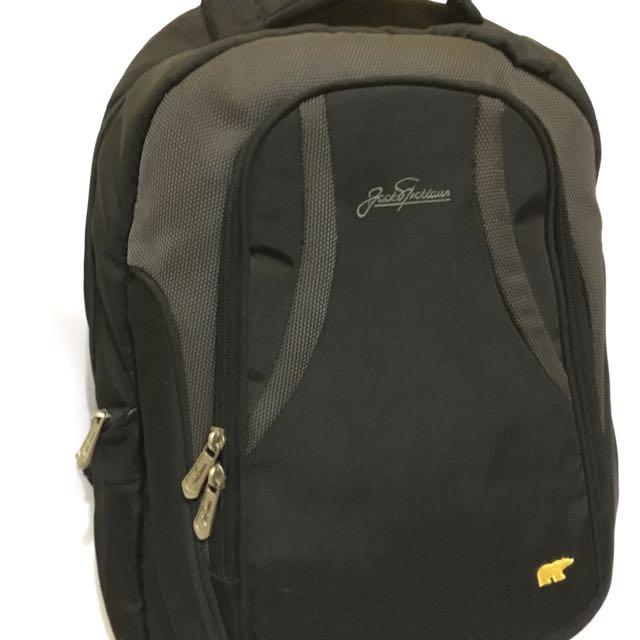 Jack Nicklaus Backpack (Black-Grey)