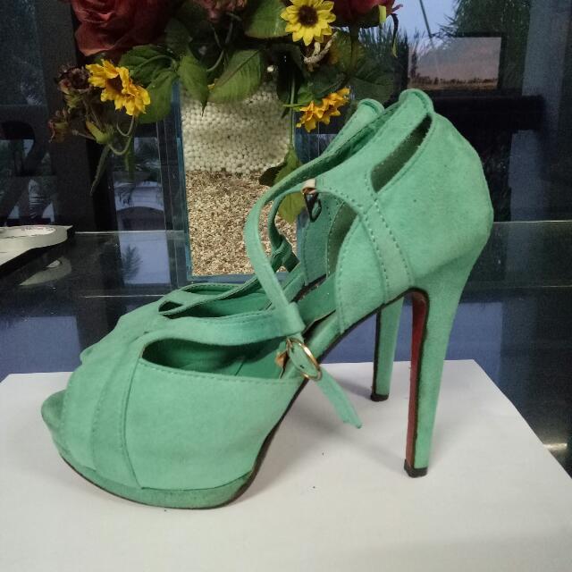 J.Rep Mint heels